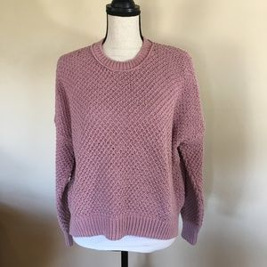 Madewell French Quarter pullover in rose/pink